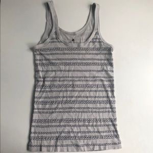 Banana Republic Graphic Rope Striped Tank
